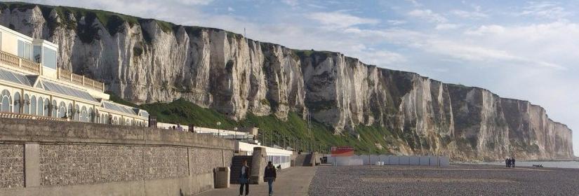 Steilküste Le Treport