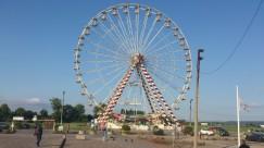 Riesenrad neben dem Stellplatz