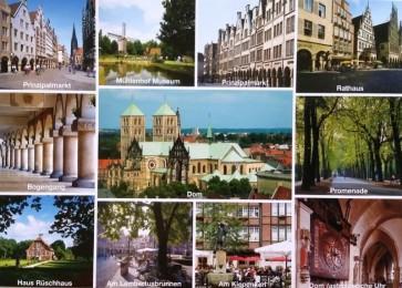 Postkarte von Münster