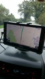Tablet mit MapFactor