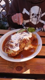 CP-Essen Gulasch im Kartoffelpuffer