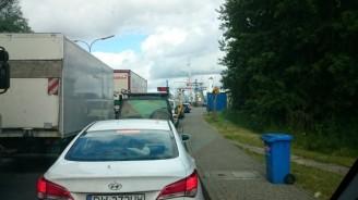 Zufahrt zum Fährhafen
