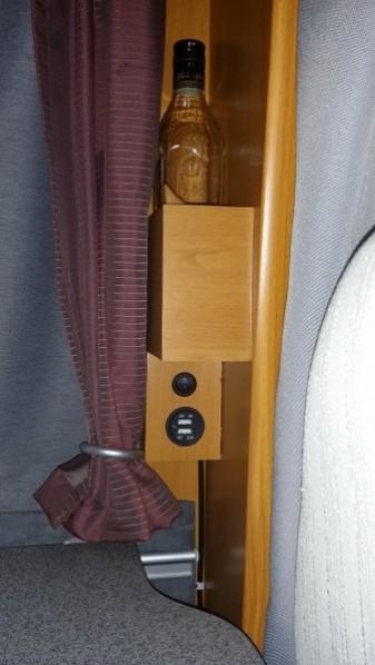 USB Ladebuchsen mit Schalter