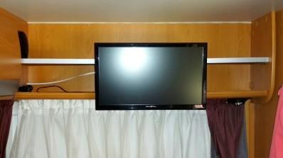 Fernseher hinten