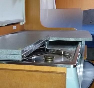 Scharniere Küchenabdeckung mitte