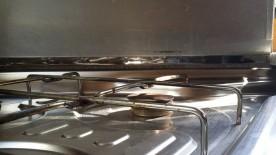 Scharniere Küchenabdeckung hinten