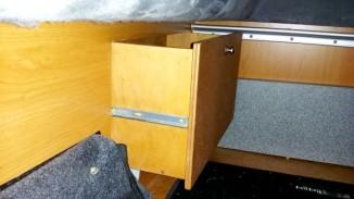 Schublade von der Seite