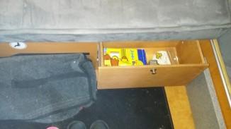 Schublade von oben