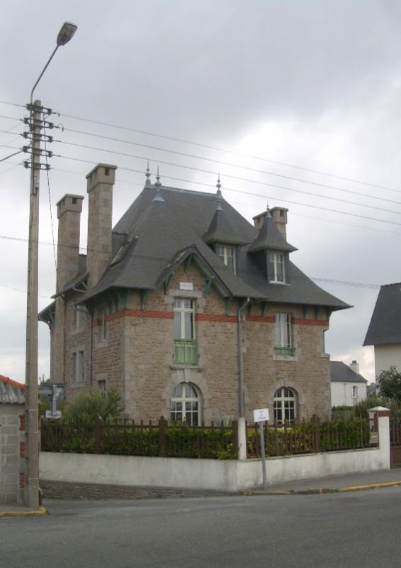 typische Häuser