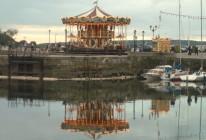 Karussel am Hafenbecken