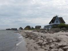 Strandhäuser auf dem Graswarder