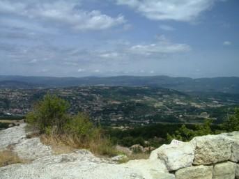 Blick vom Aussichtsfelsen