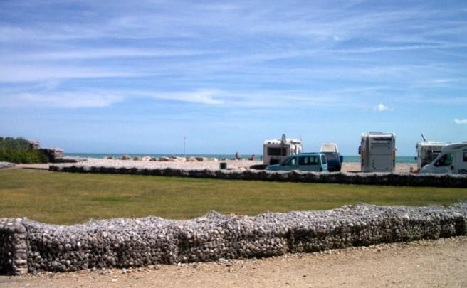 Blick vom SP Richtung Strand