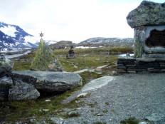 Mefjellet Passhöhe