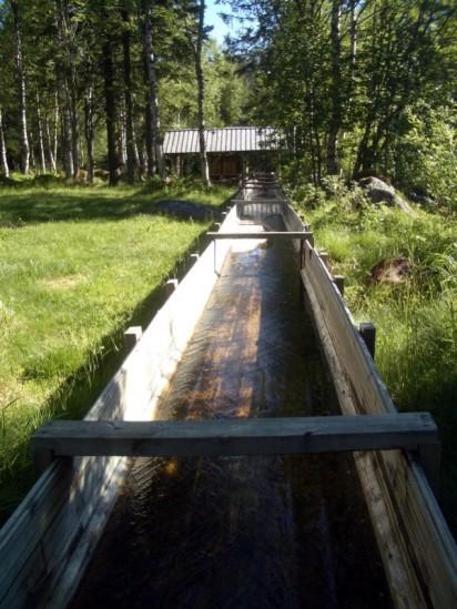 Zulauf zur Wassermühle