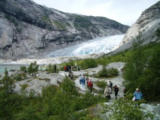 Fussweg zum Gletscher