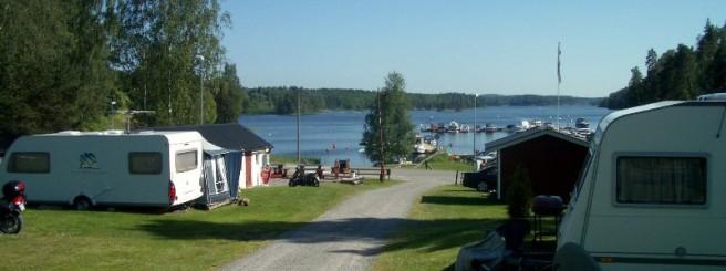 Blick vom CP auf den See