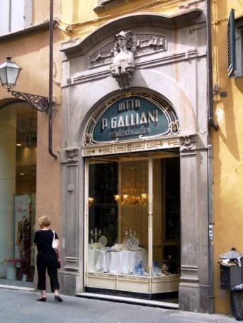 Läden in der Altstadt
