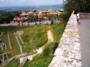 Blick vom Römischen Theater
