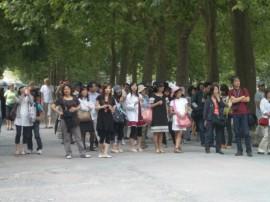 Japanische Besuchergruppe