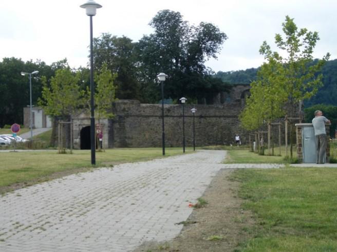 Stadtmauer vom SP aus
