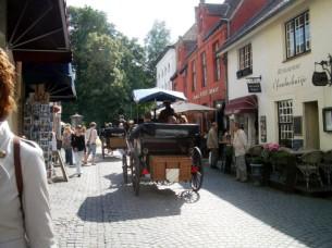 Touristen - Kutsche