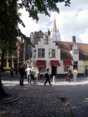typisches Altstadt - Häuschen