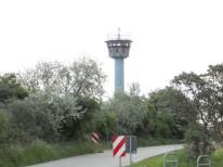 alter restaurierter Grenzturm