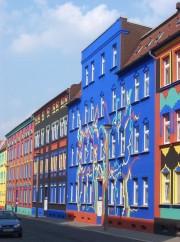 die bunte Otto-Richter-Straße