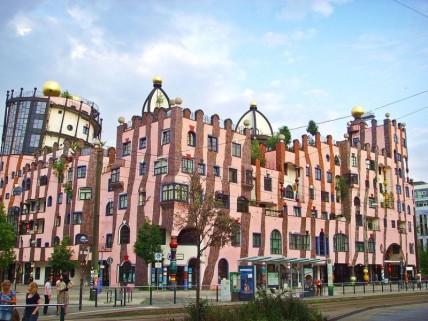 Grüne Zitadelle Hundertwasserhaus