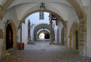 Gewölbe im Rathaus