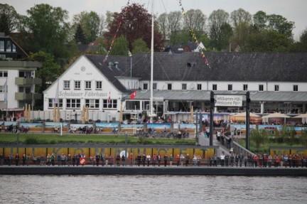 Schiffsbegrüßungsanlage Willkomm-Höft