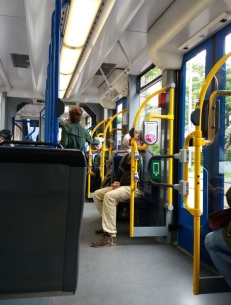 in der Tram