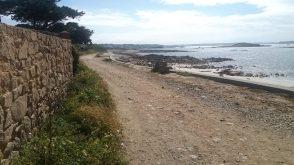 Fußweg vom Hafen zu CP