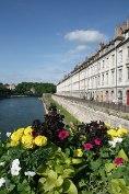 Fluss Doubs und der Quai Vauban