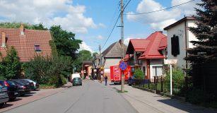 Chmielno_Dorfstraße