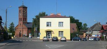 Chmielno_Dorfzentrum