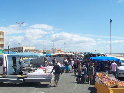 Narbonne-Plage_Markt