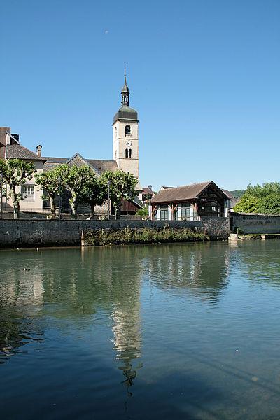 Loue und der Bezirk Saint-Laurent