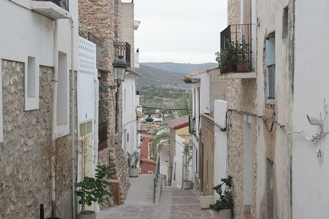 Oropesa_del_Mar_AltstadtGasse