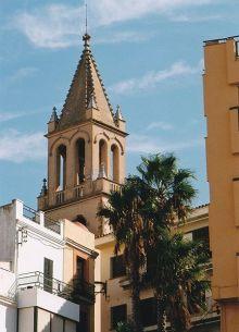 Teilansicht der Kirche Santa Maria del Mar