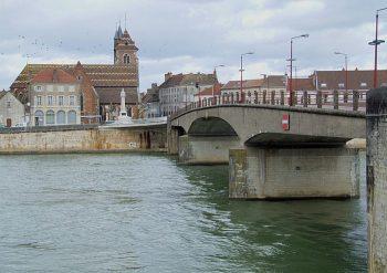Brücke über die Saône