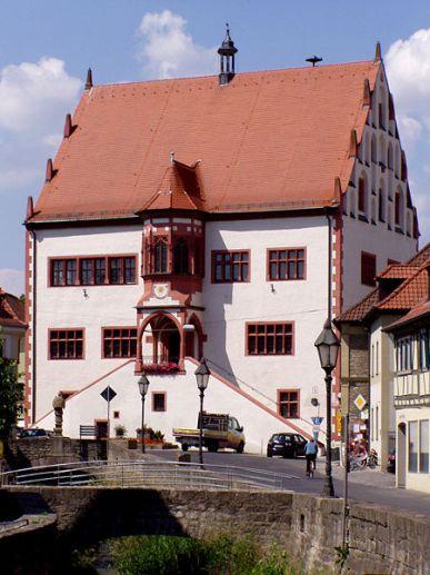 Spätmittelalterliches Rathaus