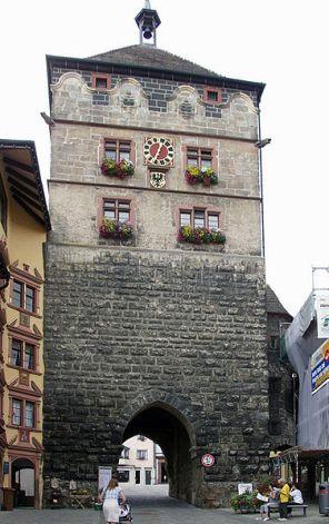 Das Schwarze Tor in Rottweil
