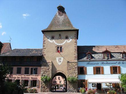 """Das """"Untertor"""" von Turckheim"""