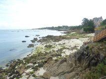 Cap Coz mit der Strand Villa