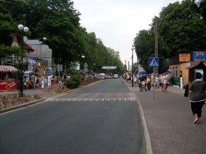 Straße in Dievenow
