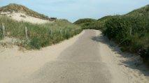 Julianadorp Übergang durch die Dünen zum Strand