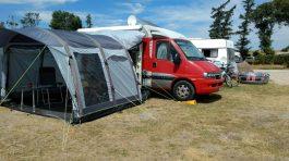 Altenteil auf dem CP Belt Camping