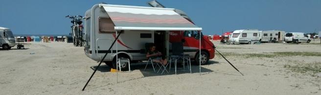 Bensersiel CP auf dem Strand